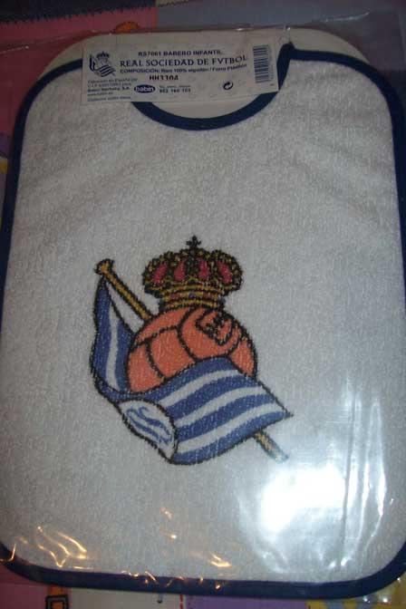 Babero de la Real Sociedad, por MartArreala