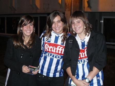 Idoia, Cristina y Nerea