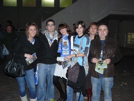 Isabel, Andoni, Aintzane, Maria, Isabel y Juan Carlos.