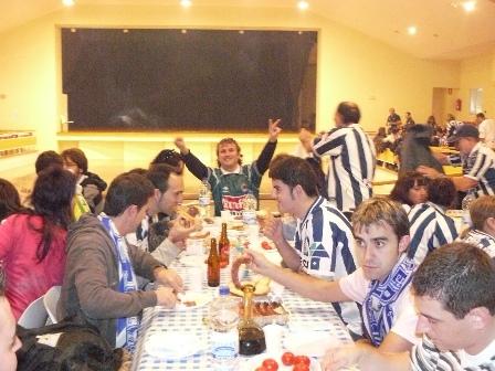 Peñas de Levante, Aragón, Cataluña y Euskadi, condraternizaron en el Pla.