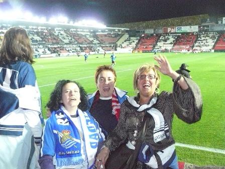 Conchi Cáceres, Inés Alday y Araceli Herrero