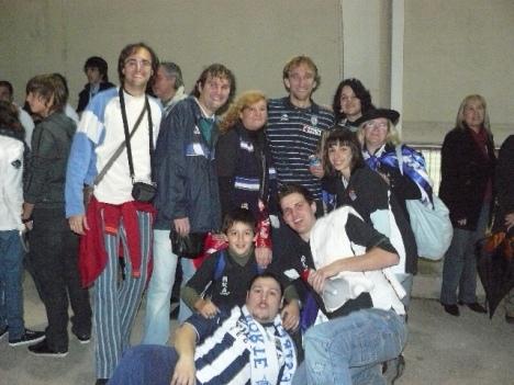 Diego Rivas se mostró muy amable como siempre con la afición.