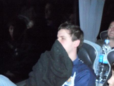 El olor en algún autobús no era del gusto de la mayoria de los que iban en él.