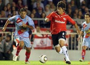 Leonel Nuñez ,( Independiente) ,marco el unico gol del partido