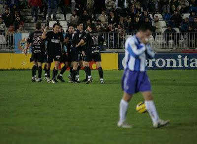 Malaga 1-Real Sociedad 5 (temporada 2004-2005)
