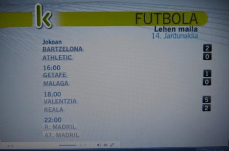 Valencia-Real Sociedad.error ETB