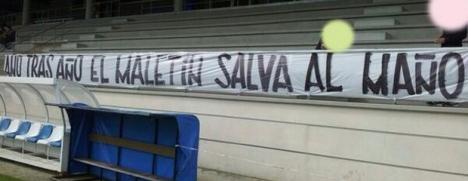 pancarta en A Coruña