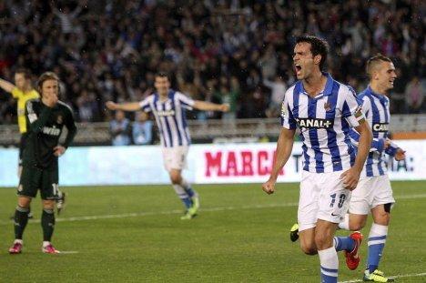 Xabi marca de nuevo al Real Madrid