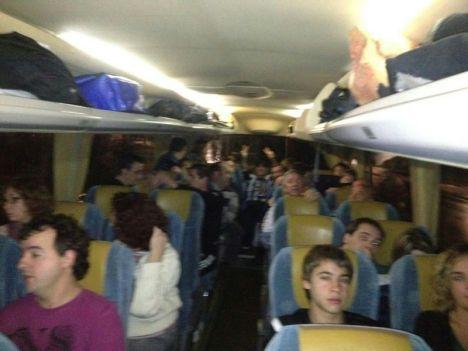 autobus hacia A Coruña