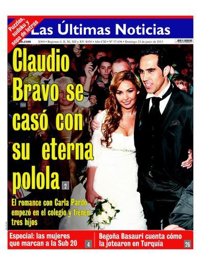 Las ultimas noticias.boda Claudio Bravo-Carla Pardo 1