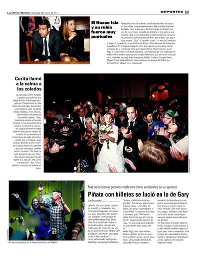 Las ultimas noticias.boda Claudio Bravo-Carla Pardo 3
