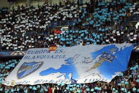 malaga y europa league