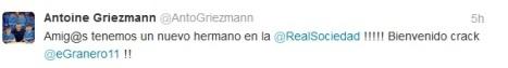 bienvenida de Griezmann a Granero