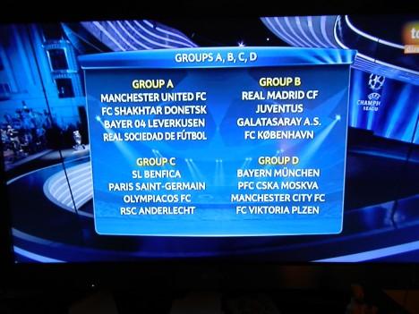 Grupos del A al D