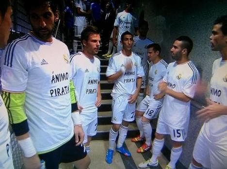 camisetas de apoyo a granero-Real Madrid