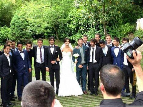 foto de equipo boda